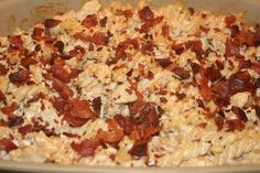 Chicken Bacon Bake - we love this dish at our house!
