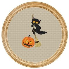 Attraversare il gatto Stitch Pattern PDF di HappyStitches4You