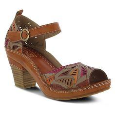 d2d8c57c3 L`Artiste by Spring Step Avelle Sandles – Camel Espadrille Sandals