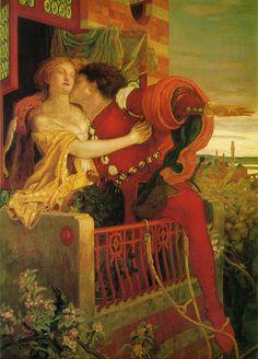 Ford Madox Brown - Pre-Raphaelites -  Romeo & Juliet (1870)