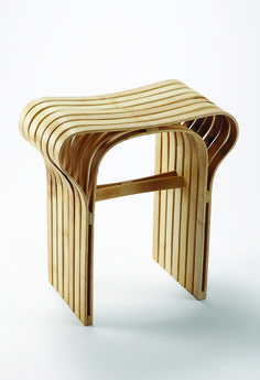 Tabouret bambou Samuel Misslen