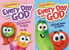 VeggieTales Every Day with God: 365 Daily Devos Review #EveryDayWithGod #FlyBy My grandkids love this!