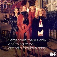 Oh Yes! #sexandthecity #satc #carriebradshaw #samanthajones #mirandahobbes #charlotteyork
