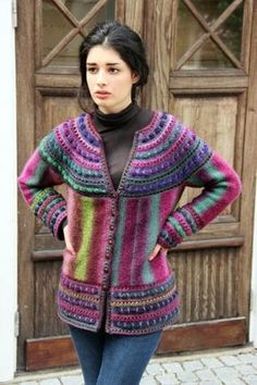 Leonela by Cornelia Tuttle Hamilton Published in [Printed: this source is a book, magazine, or pamphlet] Wisdom Book Poems Windfall Wisdom Book Poems Windfall eBook Universal Yarn Crochet Jacket, Knit Jacket, Crochet Cardigan, Knit Crochet, Universal Yarn, Cardigan Pattern, Crochet Clothes, Pulls, Knitting Projects