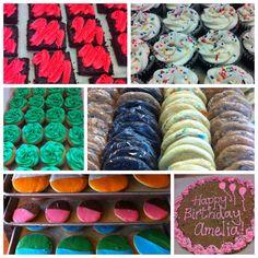 Buttercreamcupcakes, brownies & cookies