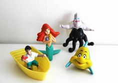 The Little Mermaid (1989) | The 25 Greatest Happy Meal Toys Of The '80s