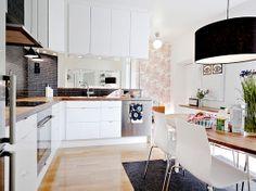 Scandinavian Kitchen - Göteborg, Sweden #sweden #kitchen