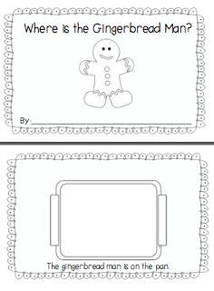 Preschool Wonders: Gingerbread 5 for Friday! Preschool Wonders: Gingerbread 5 for Friday! Gingerbread Man Activities, Holiday Activities, Preschool Activities, Kindergarten Literacy, Gingerbread Men, Gingerbread Man Kindergarten, Positional Words Kindergarten, Preschool Seasons, Speech Activities