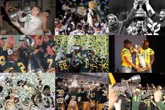 Edmonton Eskimos Grey Cup Champions throughout the years!