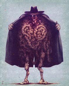 Konstantin Kostadinov shared by Meek on We Heart It Arte Horror, Horror Art, Mysterious Universe, Westerns, Lovecraftian Horror, Monster Concept Art, Creepy Art, Scary, Horror Monsters