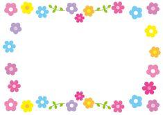 Emotions Preschool, Powerpoint Background Templates, Certificate Background, Printable Border, Cute Paintings, Envelope Art, Borders And Frames, Flower Frame, Preschool Crafts