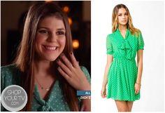 Shop Your Tv: Awkward: Season 3 Episode 6 Sadie's Green Polka Dot Dress
