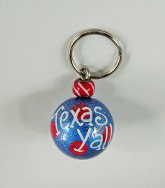 Texas Y'all keychain Y'all keychain southern by HazelMartinDesigns