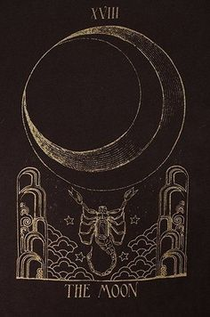 moon tarot card illustration - Yahoo Image Search Results