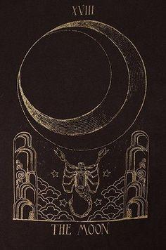 moon tarot card illustration - Yahoo Image Search Results