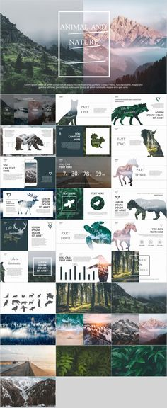 Nature style PowerPoint template – The highest quality PowerPoint Templates and Keynote Templates do Ppt Design, Layout Design, Creative Powerpoint, Slide Design, Powerpoint Presentation Templates, Powerpoint Designs, Keynote Template, Brochure Design, Flyer Template