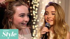 Sabrina Carpenter | Holiday Playlist Sessions Behind the Scenes | Disney Style