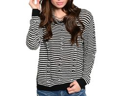 STRIPE UP THE BAND SWEATER | Embelle Boutique