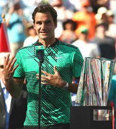 Discours du vainqueur, Roger Federer - Indian Wells 2017