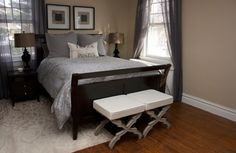 wall paint color: latte by Restoration Hardware