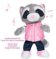 Lulu the Rockin' Raccoon  she is so cute come ck her out tonight mt holly library 4:30-7:30 I have a FREE GIFT for YOU pick up tonight mt holly library 4:30-7:30