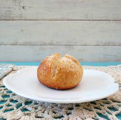 Gluten Free Pretzel Rolls - A light, fluffy, gluten free yeast roll that tastes just like a pretzel.