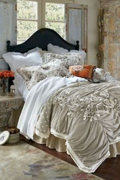 Toile Et Pois Bed Sham - Reversible Bed Sham, Vintage Bed Sham | Soft Surroundings