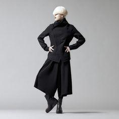 MA_JULIUS 14-15F/W のテーマは、 [ v i s i o n; ] #black #fashion