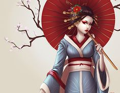 "Check out new work on my @Behance portfolio: ""Geisha"" http://be.net/gallery/40610883/Geisha"