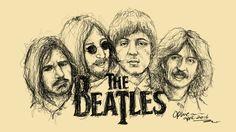 Beatles sketch...by ophie