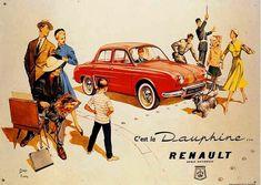Au milieu des années 50, Renault a besoin d'une Dauphine pour épauler et remplacer à terme sa « reine des ventes », la 4 CV. lancée en 1956, la Dauphine décroche dès l'année suivante, le titre de la voiture la plus vendue en France.