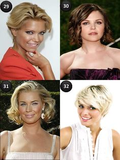 Short Wavy hairCuts for Oval Faces