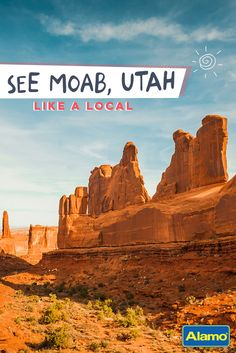 From National Parks to scenic drives, Moab, Utah has no shortage of fun activities for all fitness levels! See the top things to do in Moab! Wish I could have had more time in Moab. Utah Vacation, Vacation Places, Vacation Trips, Places To Travel, Travel Destinations, Florida Keys, Voyage Usa, Colorado, Utah Adventures