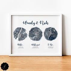 Hello, Will You, I Do, Map Print, First Anniversary Gift, Wedding Anniversary Gift For Couple, Cotton Anniversary, Met Engaged Married