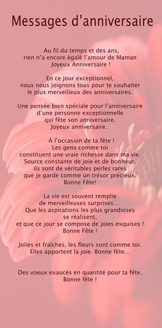 1000 ideas about joyeux anniversaire texte on pinterest image joyeux anniversaire texts and. Black Bedroom Furniture Sets. Home Design Ideas
