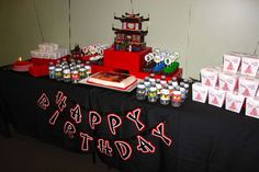 Lego Ninjago, Ninja Birthday Party Ideas | Photo 1 of 20 | Catch My Party