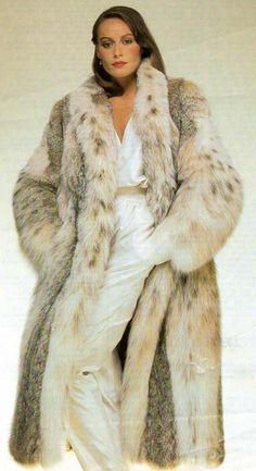 Awesome Lynx Fur Coat