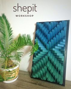 Handcrafted Wood Wall Art / Sound Diffuser Panel This piece is made from pine wood. Frame burned in Japanese technique Yakisugi (Shou Sugi Ban). It measures 25 x 15 x the picture). But you can choose a different size. Love Wall Art, 3d Wall Art, Panel Wall Art, Wooden Wall Art, Abstract Wall Art, Wood Wall, Wall Art Decor, Canvas Wall Art, Beach Wall Art