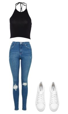 """""""Untitled #10"""" by brianna1234-i on Polyvore featuring Topshop"""