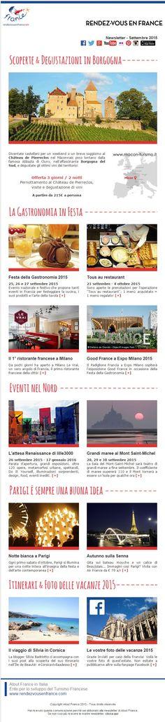 Un settembre festoso: tante buoni motivi per andare in Francia! #RDVFrance #Rendezvousenfrance #ViaggiFrancia #FestadellaGastronomia #FGD2015 #Francia
