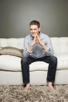 Michael Buble - He's such a fun loving, sunshiny kind of guy that sings really well. What's not to like about him? ;)
