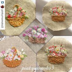 "154 Likes, 2 Comments - Babi Bernardes (@bordados_e_bordadeiras) on Instagram: ""@pinkymomoko3 #ricamo #broderie #bordado #embroidery #quilt #handmade #handwork"""