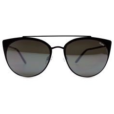Quay Australia Tell Me Why Sunglasses in Black