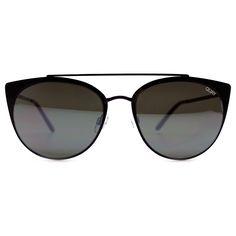 Quay Australia Tell Me Why Sunglasses in Black