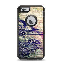 Add style to yourApple iPhone 6 OtterBox Case! With Design Skinz, you can change the look of your favorite case in seconds,literally. Made from a premium vinyl, these skinz can take a beating.