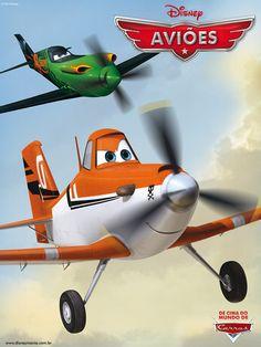 Aviões, a próxima animação do DisneyToon Studios a ser lançada nos cinemas, ganhou seu primeiro pôster oficial.