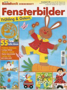 Húsvét4 - tuske.virag - Picasa Webalbumok Crafts To Make, Crafts For Kids, Cross Stitch Magazines, Painted Books, Book Folding, Paper Cutting, Decoration, Bunt, Kindergarten
