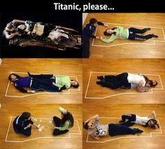 y avait la place, on est d'accord.  Les plus belles histoires commencent toujours par des naufrages (Jack London) C'est aussi la preuve que les hommes sont plus cons que les femmes ...