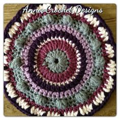 Annoo's Crochet World: Mandala Free Pattern