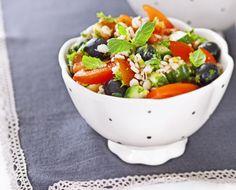Tabbouleh-salaatti täysjyväohrasta